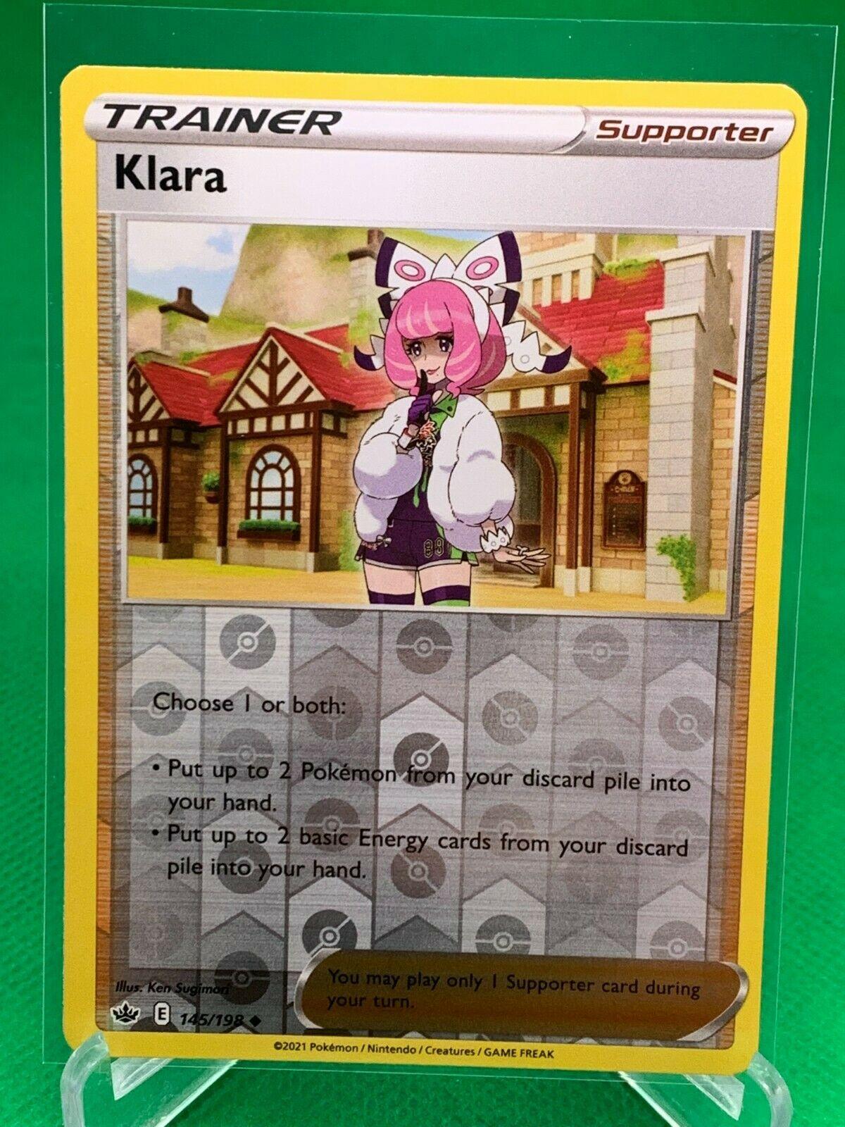 Pokemon - Klara - Chilling Reign - 145/198 - Reverse Holo