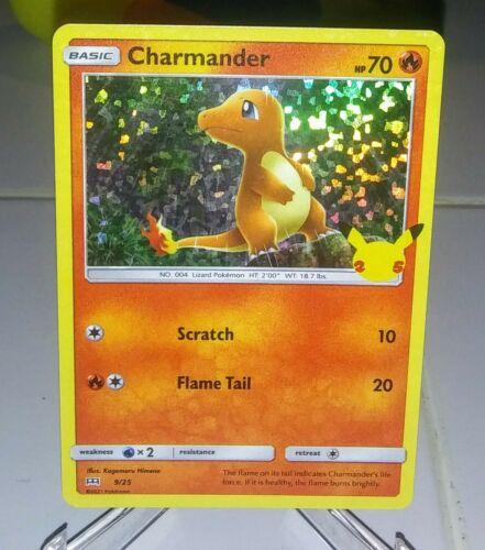 2021 Pokemon McDonald's Promo Charmander HOLO SP 9/25 Illus. Himeno