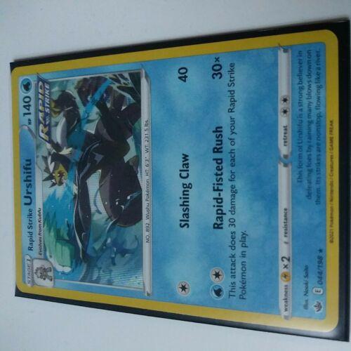 Rapid Strike Urshifu 044/198 Holo Rare Chilling Reign Pokemon Card