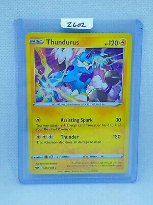 Pokémon TCG Thundurus Holo 052/198 | Chilling Reign | Play/Grade Ready