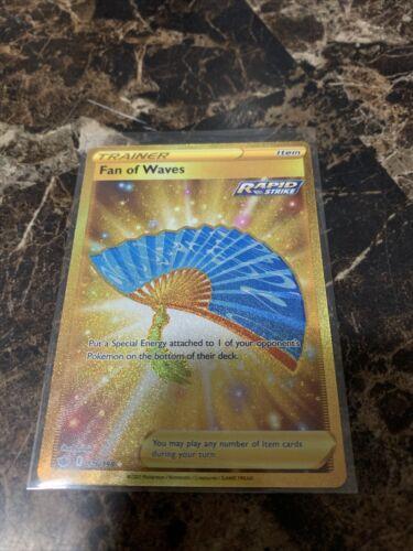 Pokemon Fan of Waves 226/198 Gold Secret Rare Chilling Reign NM/M