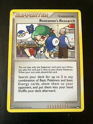 Pokemon TCG Roseanne's Research POP Series Promos 8 11/17 Uncommon LP - Image 1