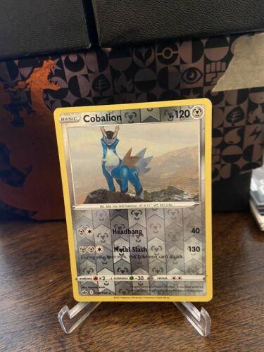 Pokemon Chilling Reign Reverse Holo COBALION 114/198