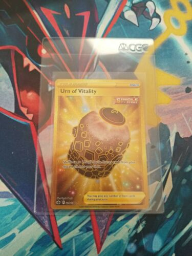 Pokemon Urn of Vitality 229/198 Gold Secret Rare Chilling Reign NM-Mint FRESH ⚱