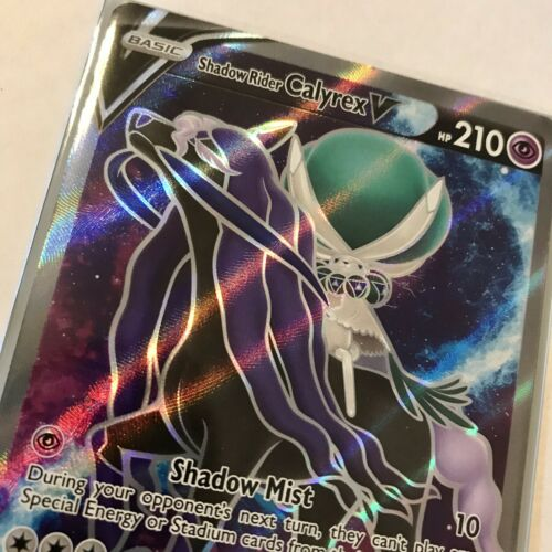 Shadow Rider Calyrex V Full Art 171/198 NM Chilling Reign Pokemon - Image 4