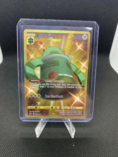 Pokemon Chilling Reign Bronzong Secret Gold Rare 223/198