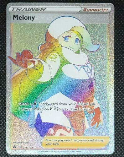 Secret Melony 218/198 - Chilling Reign - Pokemon - NM