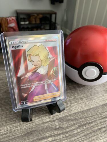 Pokemon Agatha 186/198 Ultra Rare Chilling Reign Fresh Pull Mint 🔥🔥