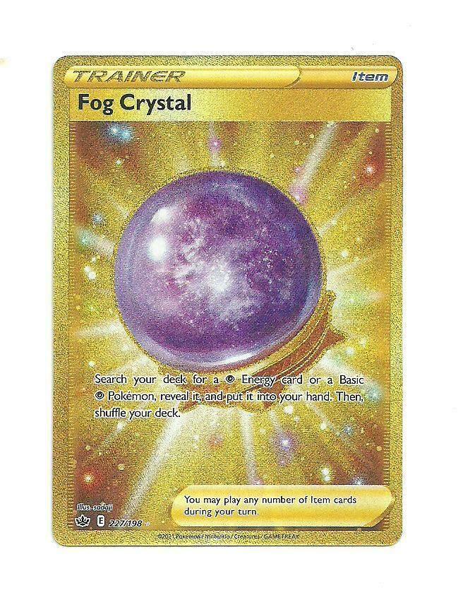 Pokemon : SWSH CHILLING REIGN Fog Crystal 227/198 SECRET RARE