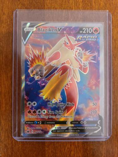 Pokemon Blaziken V 161/198 Full Art Ultra Rare Chilling Reign NM/M