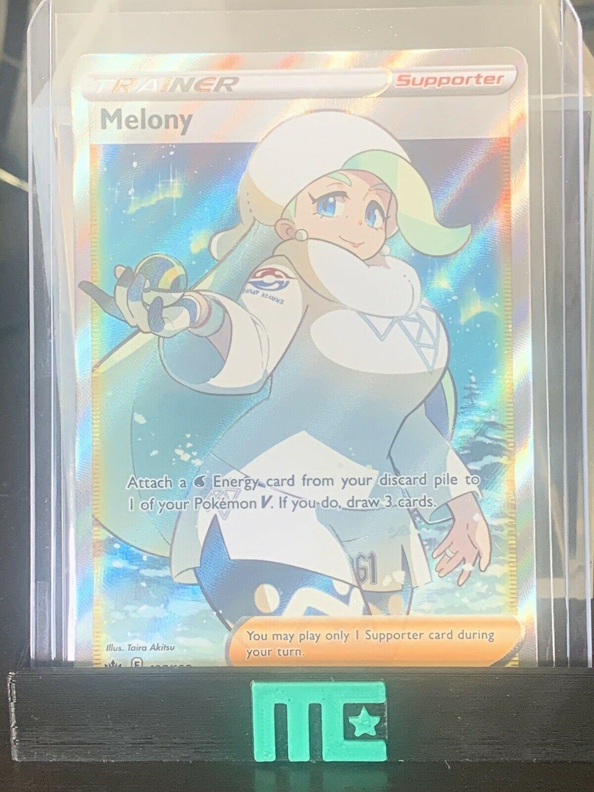 Melony - Full Art Trainer - Chilling Reign - 195/198 - LP
