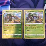 Pokemon Shining Fates - Rillaboom Reverse Rare Holo & Holo Rare 013/072 - NM/M