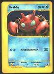 Pokemon Card-Krabby 115/165 Expedition-German- show original title