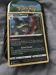 Galarian Weezing HOLO RARE 042/072 Shining Fates Pokemon TCG Card Near Mint