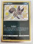 Nickit SV081/SV122 Shining Fates Holo Shiny Pokemon Card Near Mint