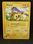 POKEMON Pikachu Expedition 124/165 Never played NM See pix of card #2