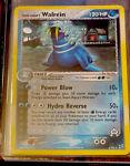 Team Aqua's Walrein Holo Rare 6/95 EX Team Magma vs Team Aqua 2004 Pokemon Card