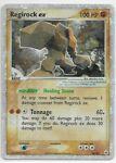 Pokemon Hidden Legends Regirock ex Ultra Rare Holo Card 98/101 Vintage!!!