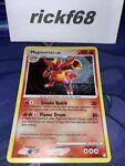 Pokémon Mysterious Treasures Magmortar 12/123 Rare Holo *READ DESCRIPTION*