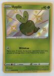 Pokémon TCG Applin Shining Fates SV012/SV122 Holo Shiny Rare Near Mint