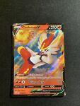 Pokemon TCG: Shining Fates - Cinderace V 018/072 (NM/M Ultra Rare Holo Card)