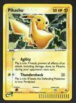 Pikachu Pokemon Card 012 Black Star Promo Holo 2006