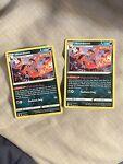2X Pokemon Battle Styles - Houndoom Deck Exclusive 096/163. Non-holo. Mint