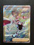 Pokemon Battle Styles Korrina's Focus - 160/163 Full Art NM