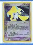 Jirachi Holo EX Hidden Legends 8/101 Ex Pokemon