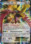 1x Ho-Oh-EX - 92/122 - Holo Rare ex NM-Mint Pokemon XY - Breakpoint