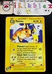Raichu 61/165 HP Non-Holo Rare Expedition Base Set Pokemon Card. Tracked Ship!