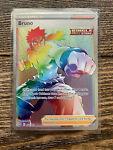 Pokemon TCG Battle Styles Bruno Full Art Trainer Secret Rainbow Rare 172/163 NM