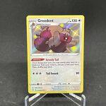 Greedent SV100/SV122 Shiny Holo Rare Shining Fates Pokemon Card