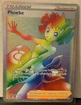 Pokemon Battle Styles Phoebe Full Art Rainbow Rare 175/163