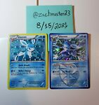 Glaceon - 23/116 - Shattered Holo Rare Excellent plus extra NM Holo BW90 Promo