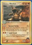 Pokemon - Team Magma's Rhydon - Team Magma vs Aqua 22/95 - Rare - NM