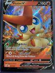 Victini V 021/163 Full Art Holo Rare Battle Styles Pokemon Card TCG