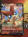 Victini V 021/163 Ultra Rare Battle Styles Pokemon Card NM