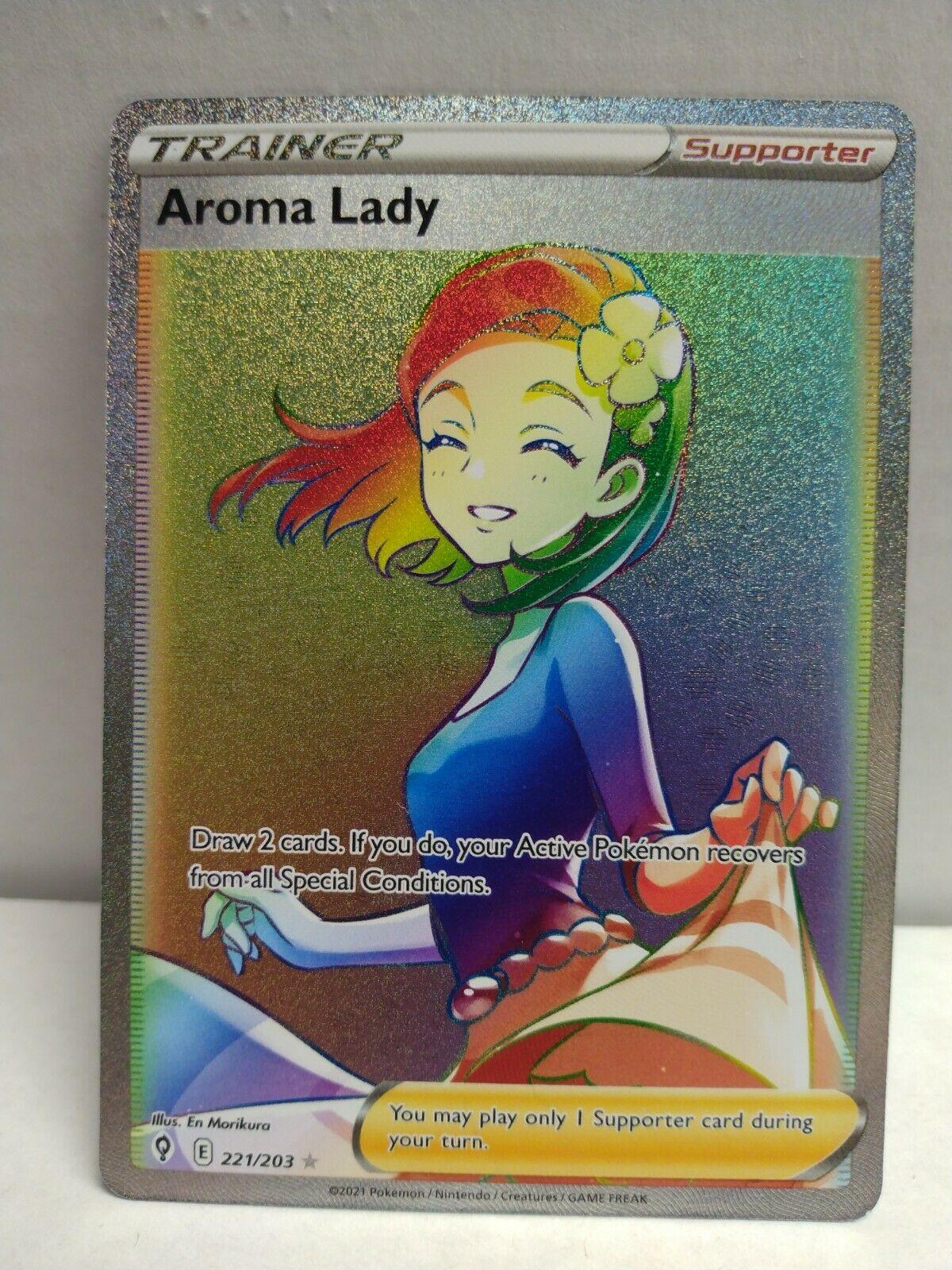 Pokemon Evolving Skies Aroma Lady 221/203