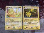 2x Pokemon Pikachu 94/123 - Mysterious Treasures - Pikachu 71/99 BOTH NM b