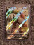 Rillaboom V SV105/SV122 Shiny Holo Full Art Ultra Rare Pokemon Shining Fates nm