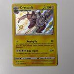 Pokemon TCG SS Shining Fates Dracozolt SV045/SV122 Shiny Holo Rare NM
