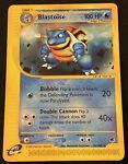 BLASTOISE 36/165 - Rare Non - Holo EXPEDITION e-reader Pokémon Card NM