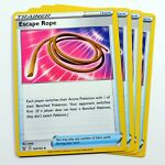 4x Escape Rope 125/163 Battle Styles Pokemon Cards TCG Play Set NM/M