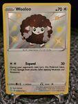 Pokémon TCG Wooloo Shining Fates SV103/SV122 Holo Shiny Holo Rare