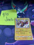 Shiny Toxtricity SV042/SV122 Shining Fates Holo Rare Pokemon Card-NM