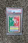 1995 Kabutops 🔥PSA Mint 9🔥P.M. Japanese Topsun Blue Back *VERY RARE* Pokemon