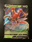 POKEMON TCG CARD Kricketune V 006/163 Battle Styles 2021 Ultra Rare Holo - NM
