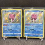 2X Eiscue - SV035/SV122 - Shining Fates - Shiny Vault - Pokémon TCG Card - NM