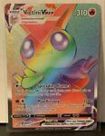 Pokemon Battle Styles Victini VMAX Rainbow Rare 165/163